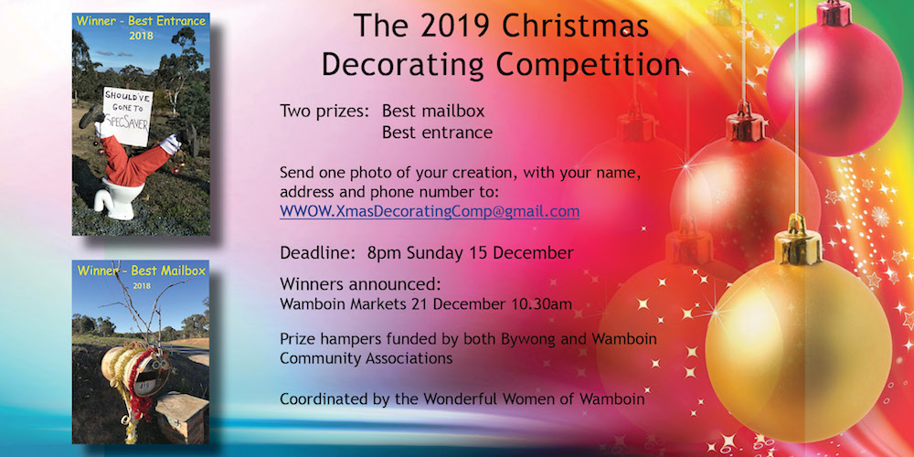 Christmas Decorating Competition